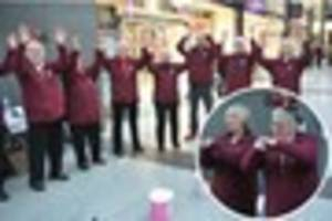 signing choir spread christmas cheer in hull st stephen's