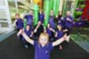 new clip 'n climb centre opens at pheonix park and we have the...