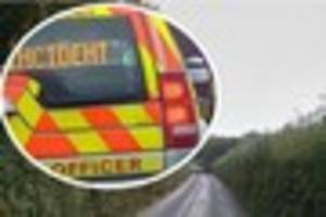 woman, 91, injured in head-on crash on dartmoor country road