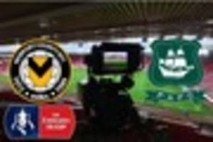 plymouth argyle or newport county set for lucrative fa cup tv...