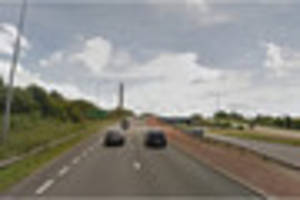 Witness appeal after road rage incident on A50 sliproad at...
