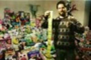 Walsall man's Toys 4 Tots appeal 'to give less fortunate children...