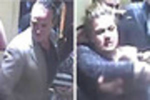 Hunt for man and woman wanted following assault outside...
