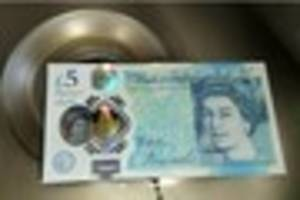 taunton vegan cafe not happy about accepting new £5 note as...