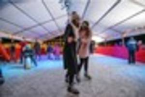 First-ever ice rink opens in East Grinstead