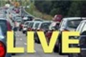 live:  m25, m20 traffic accident updates and latest on roads and...