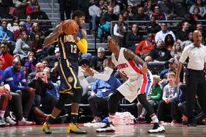 Indiana Pacers Rumors: NBA superstar Paul George heading to Detroit Pistons on a rumored deal?