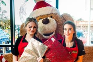 Starbucks stores have collected more than 100 toys to help local children this Christmas