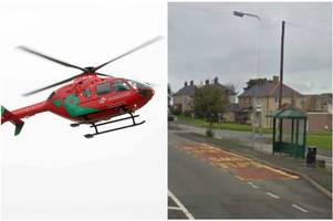 Young pedestrian airlifted to hospital following 'serious' collision