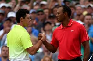 Rory McIlroy says Tiger Woods exceeded expectations in first event back