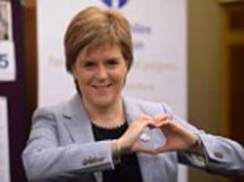 donald trump picks up the phone to nicola sturgeon to discuss the 'long-standing relationship between scotland and the us'