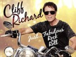 veteran singer sir cliff richard hopes his new record, just ... fabulous rock 'n' roll, hits number one. so far, the album, released last month, has reached number four on the uk charts.
