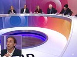 will self slammed for mocking mcdonald's workers during question time