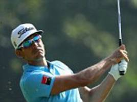 rafa cabrera bello opens up three-shot lead in hong kong as the spaniard searches for his first win in five years