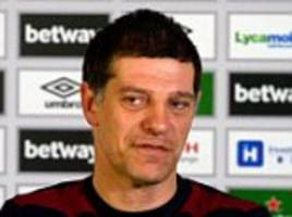west ham manager slaven bilic insists he has club's support as he looks to turn around season at liverpool
