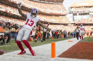 new york giants: odell beckham fined for verbal abuse of official