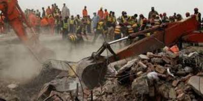 Building collapses in Hyderabad,rescue operations underway <br/>