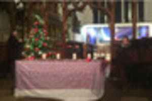 candle-lit service to remember lost children in nottingham
