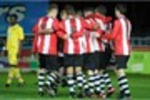 exeter city under-18s could play premier league side in fa youth...