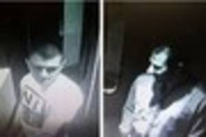 essex police release cctv images of men in connection with...