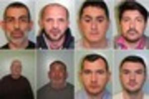 eight more men have been jailed as a multi-million pound drugs...