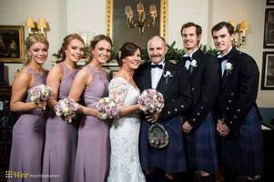 andy and jamie murray reveal delight at dad will's marriage to sam watson in stunning pic with new step-sisters
