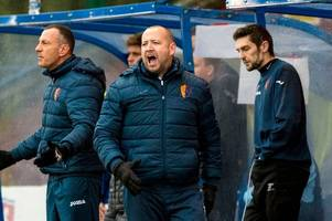 east kilbride boss calls on side to focus on promotion after scottish cup agony