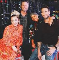 is feuds with miley cyrus the only reason behind the exit of adam levine from voice, season 13?