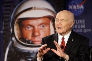 former astronaut john glenn, first american to orbit earth, died aged 95