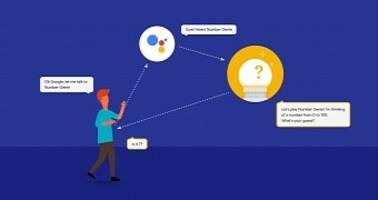 google intros actions, a new way for android users to talk to 3rd-party services