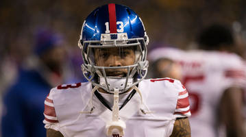 Giants' Odell Beckham Jr. fined for verbally abusing official
