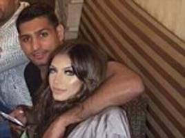 Boxer Amir Khan could quit the UK permanently and move to New York to keep his wife happy after her dramatic Snapchat rant against his family