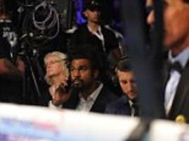 tony bellew hits back at david haye's threats to send him to hospital after watching luke blackledge receive oxygen in the ring: 'there's nothing good about that you knob'