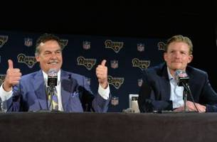 Rams' Jeff Fisher Reacts to Reported Feud with GM Les Snead