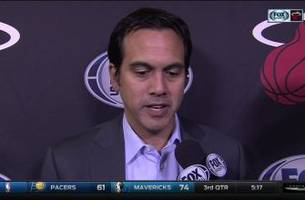 erik spoelstra: that was a team executing at a championship level