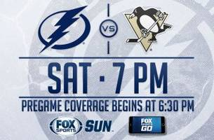 Pittsburgh Penguins at Tampa Bay Lightning game preview