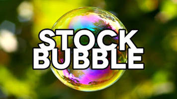 the stock market is officially in bubble territory (video)