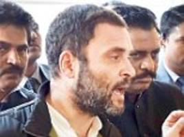 'Demonetisation is biggest scam in Indian history': Rahul Gandhi promises to invoke an 'earthquake' if allowed to reveal REAL reasons behind note ban