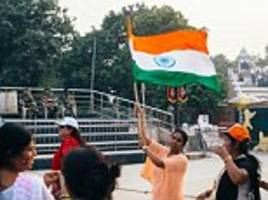 'Patriotism cannot be forced down anybody's throat': Supreme Court exempts differently abled from standing up during national anthem in cinemas but NOT the foreigners