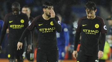 guardiola defends man city's system after loss at leicester