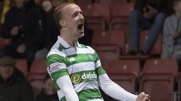 celtic will be 'hard to stop' warns striker leigh griffiths