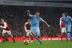 arsenal 3, stoke city 1: hughes proud of players, wenger disputes...