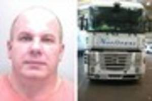 driver jailed for over 11 years for huge £5m drug smuggling...