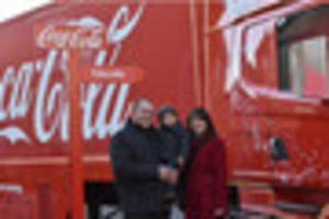 Live - Iconic Coca-Cola Christmas truck comes to Lincoln
