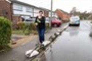 Witham family 'living in fear' that their house could flood every...