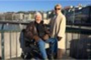 a folkestone grandad has died in an assisted suicide but hoped...