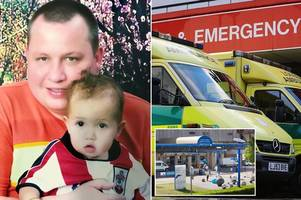 dad dies after '90 minute wait' for ambulance to hospital just one mile from his home