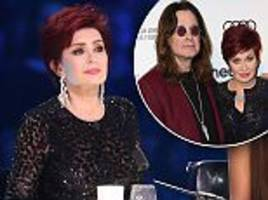sharon osbourne reveals she will renew her wedding vows with unfaithful husband ozzy and admits she's 'happy'