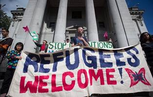 mapping the top states for resettling refugees in 2016