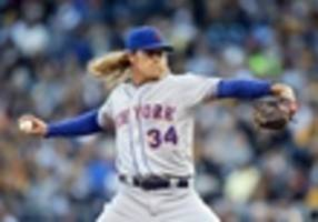 mets choose ace noah syndergaard to play christmas party santa despite terrible curse associated with role